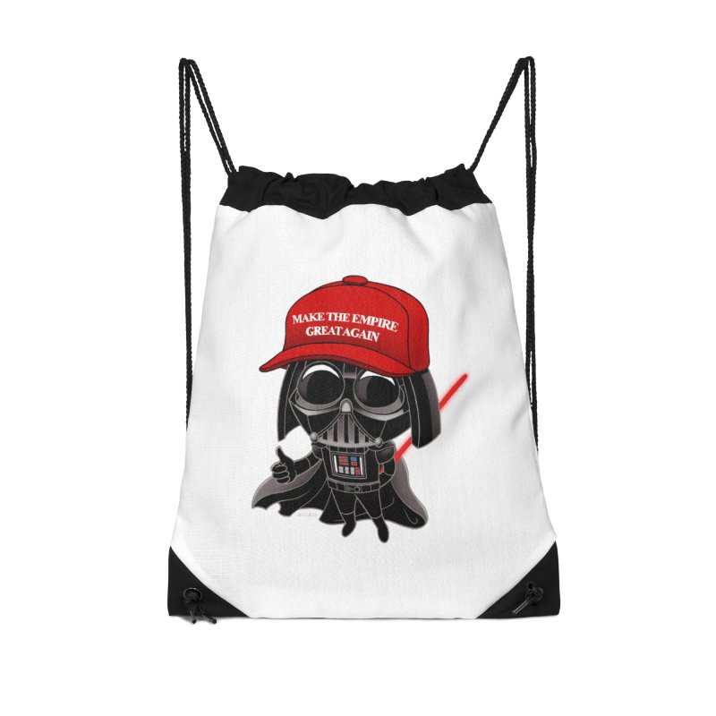 Make the Empire Great Again Accessories Drawstring Bag Bag by BRETT WISEMAN