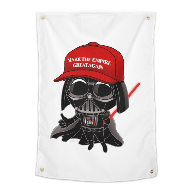 Make the Empire Great Again Home Tapestry by BRETT WISEMAN