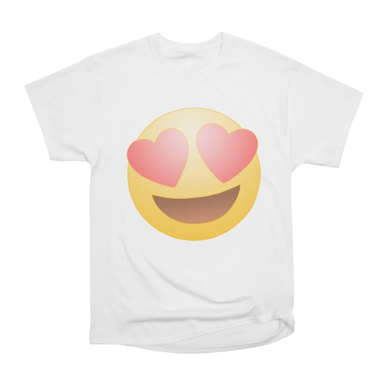 Emoji in Love Women's T-Shirt by BRETT WISEMAN