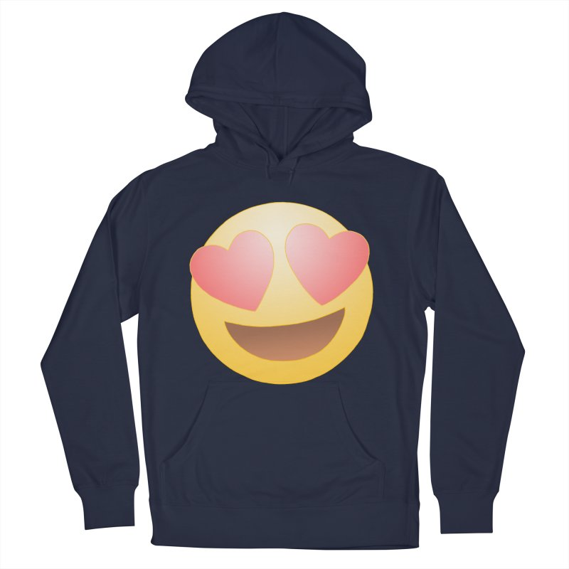Emoji in Love Men's Pullover Hoody by BRETT WISEMAN