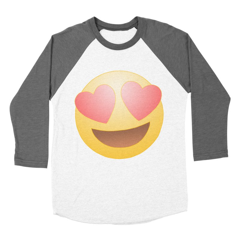 Emoji in Love Women's Longsleeve T-Shirt by BRETT WISEMAN