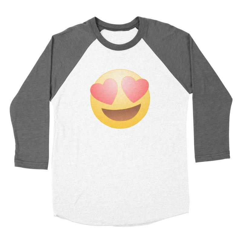 Emoji in Love Women's Longsleeve T-Shirt by BRETT WISEMAN