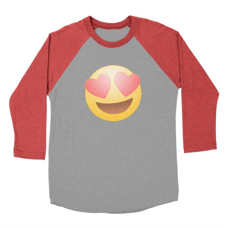 Emoji in Love Men's Longsleeve T-Shirt by BRETT WISEMAN