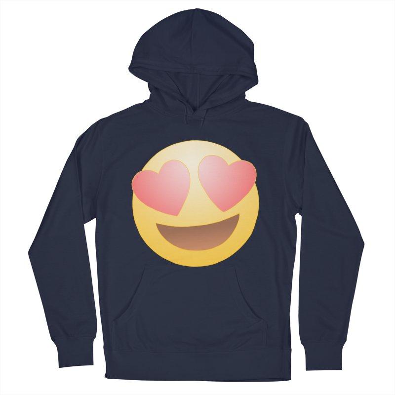 Emoji in Love Women's Pullover Hoody by BRETT WISEMAN