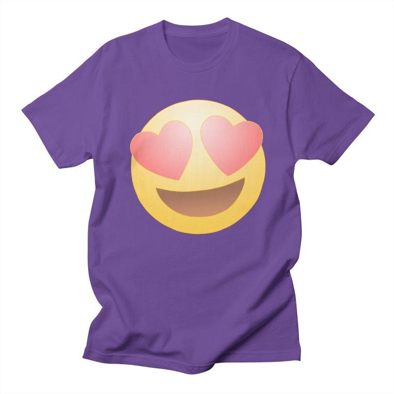Emoji in Love Women's Unisex T-Shirt by BRETT WISEMAN