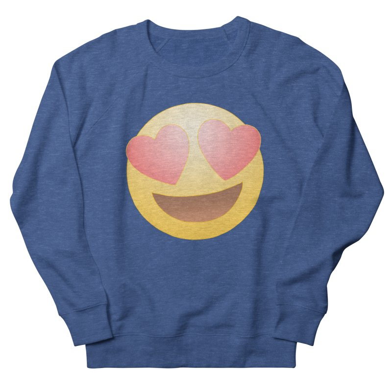 Emoji in Love Men's Sweatshirt by BRETT WISEMAN