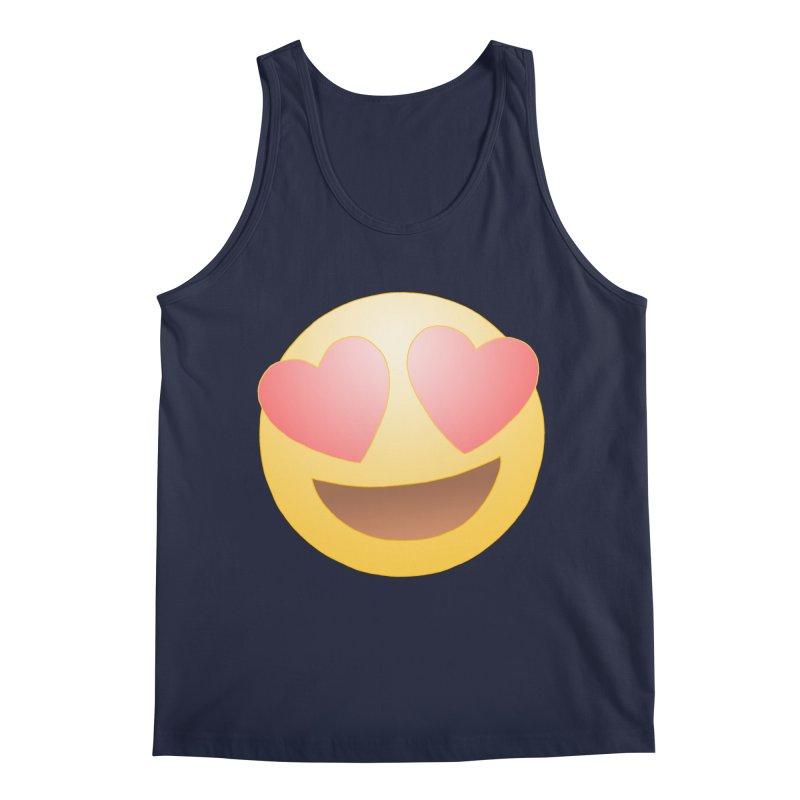 Emoji in Love Men's Regular Tank by BRETT WISEMAN