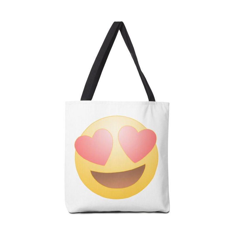 Emoji in Love Accessories Bag by BRETT WISEMAN