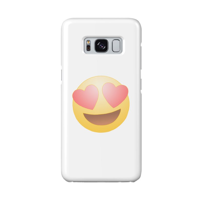 Emoji in Love Accessories Phone Case by BRETT WISEMAN