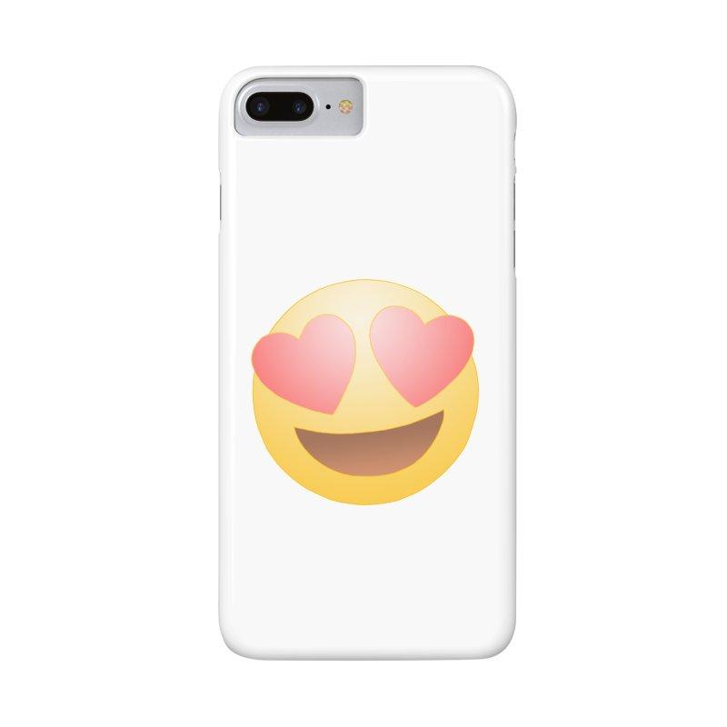 Emoji in Love Accessories Phone Case by BRETT WISEMAN