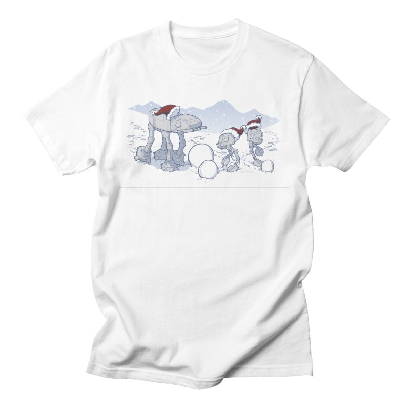 Happy Hoth-idays! Men's T-Shirt by BRETT WISEMAN