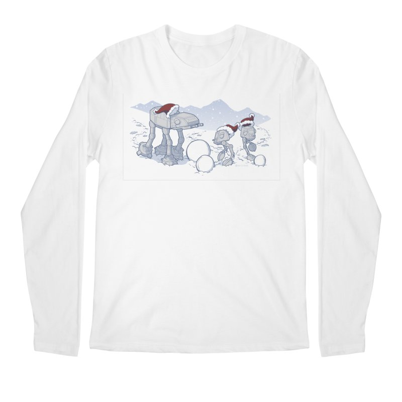 Happy Hoth-idays! Men's Regular Longsleeve T-Shirt by BRETT WISEMAN