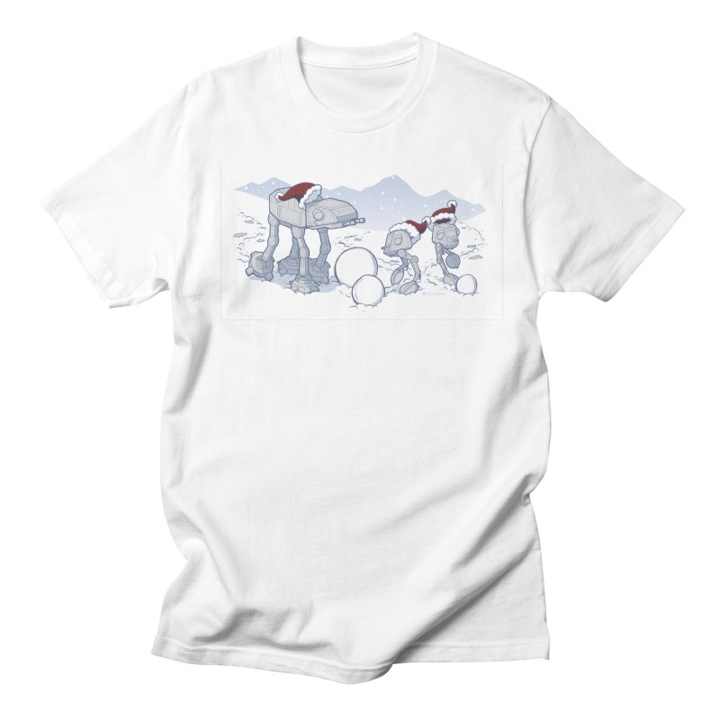 Happy Hoth-idays! Men's T-Shirt by BRETT WISEMAN