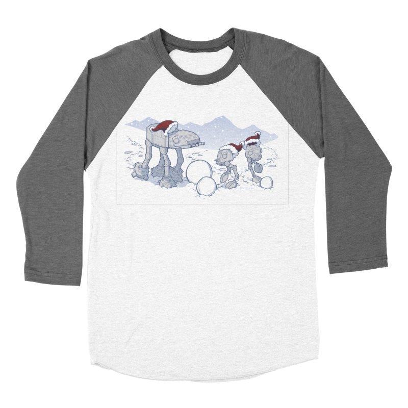 Happy Hoth-idays! Men's Baseball Triblend Longsleeve T-Shirt by BRETT WISEMAN