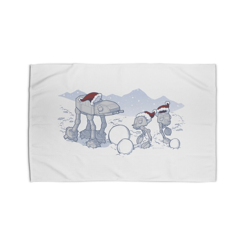 Happy Hoth-idays! Home Rug by BRETT WISEMAN