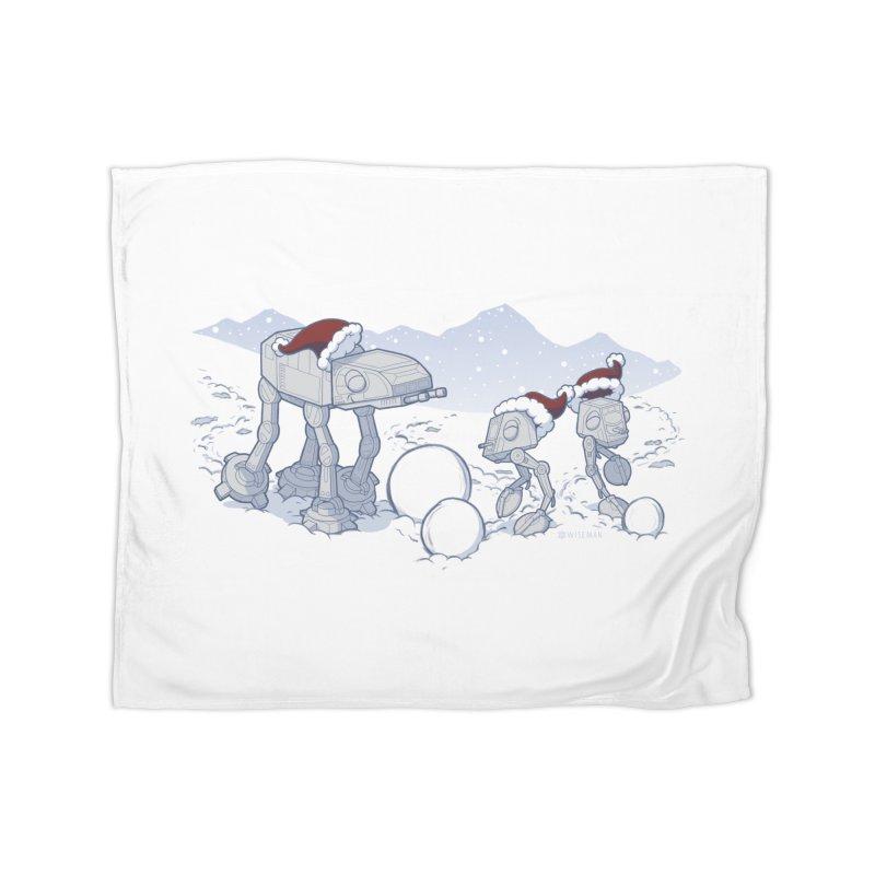 Happy Hoth-idays! Home Blanket by BRETT WISEMAN