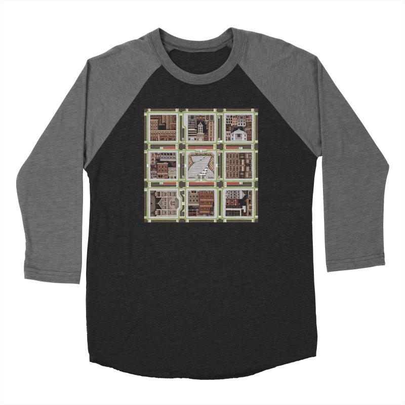 Urban Plaid Women's Longsleeve T-Shirt by BRETT WISEMAN