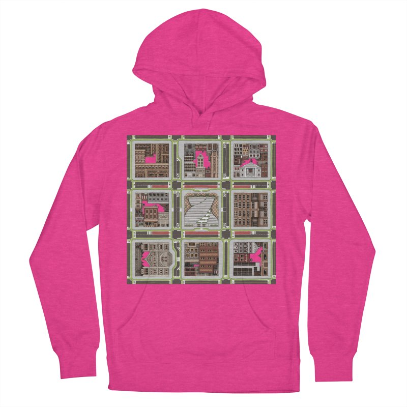 Urban Plaid Women's Pullover Hoody by BRETT WISEMAN