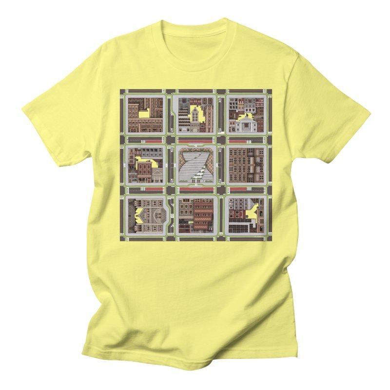 Urban Plaid Women's Regular Unisex T-Shirt by BRETT WISEMAN