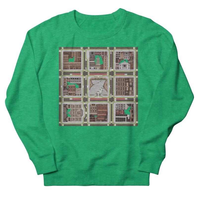 Urban Plaid Women's Sweatshirt by BRETT WISEMAN