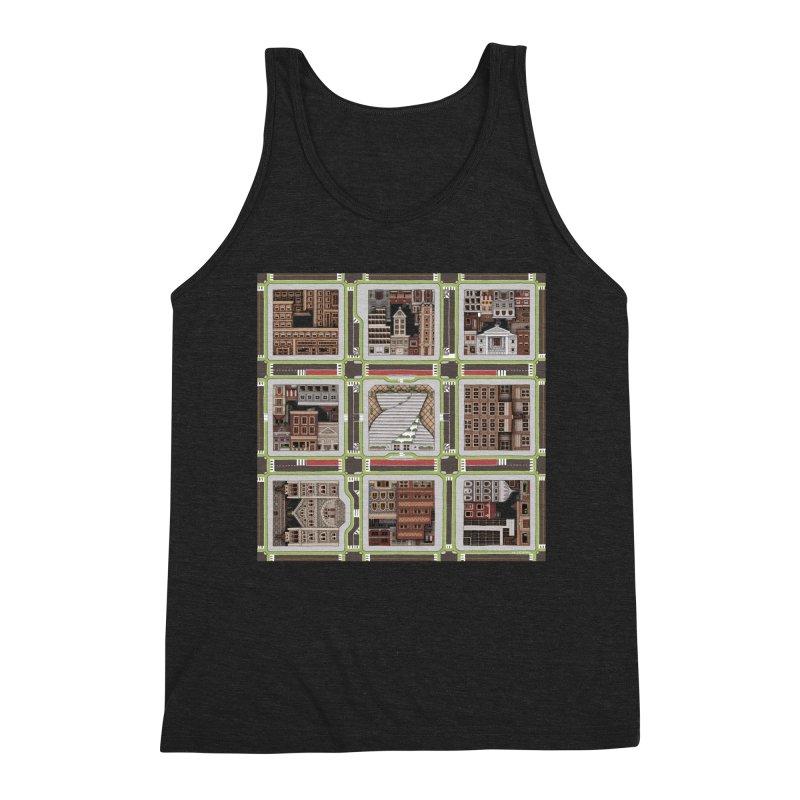 Urban Plaid Men's Tank by BRETT WISEMAN