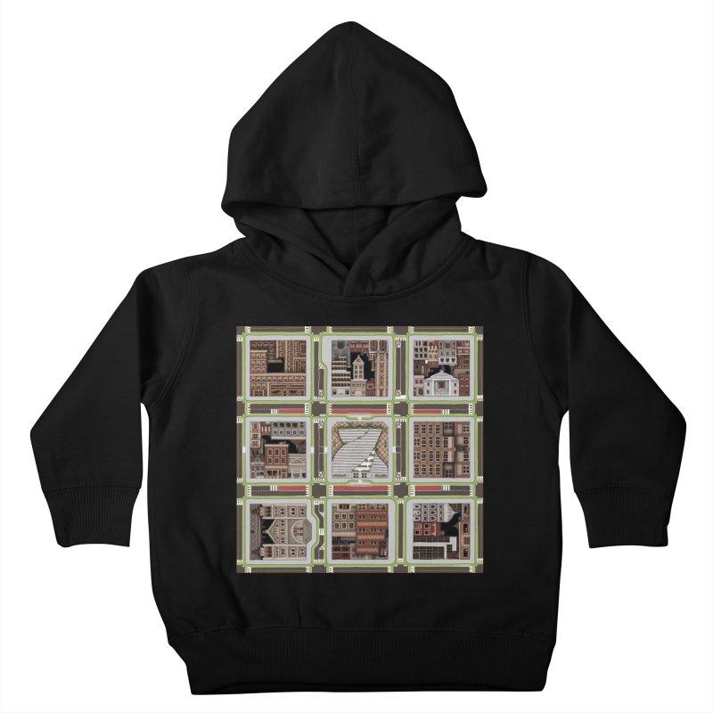 Urban Plaid Kids Toddler Pullover Hoody by BRETT WISEMAN