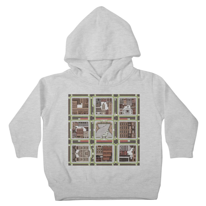 Urban Plaid Kids Toddler Pullover Hoody by BRETT WISEMAN