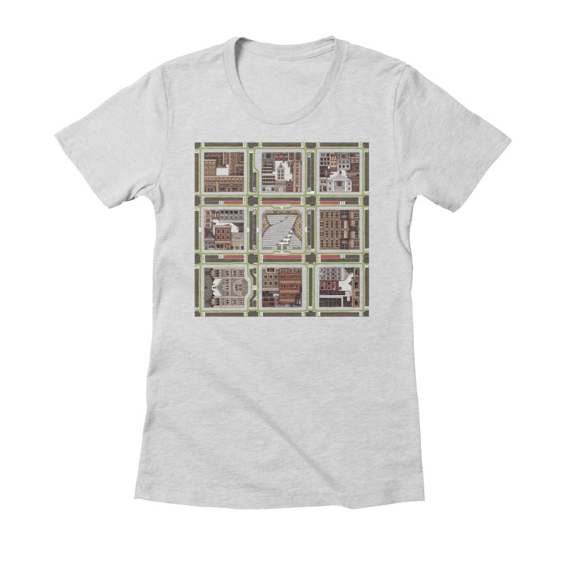 Urban Plaid Women's T-Shirt by BRETT WISEMAN