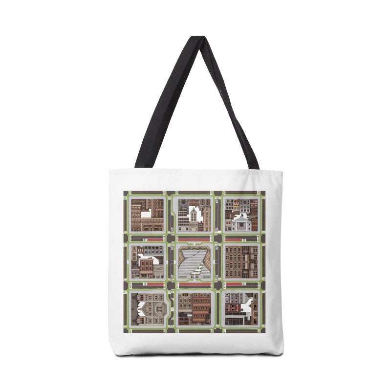 Urban Plaid Accessories Tote Bag Bag by BRETT WISEMAN
