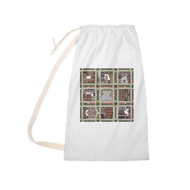 Urban Plaid Accessories Bag by BRETT WISEMAN