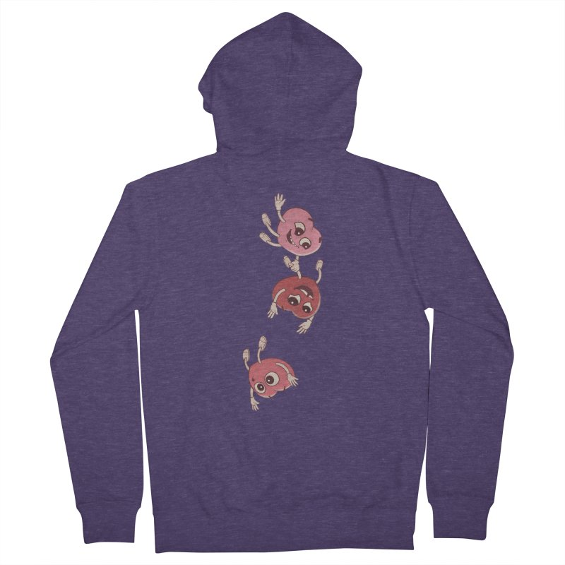 Falling in Love Men's Zip-Up Hoody by BRETT WISEMAN