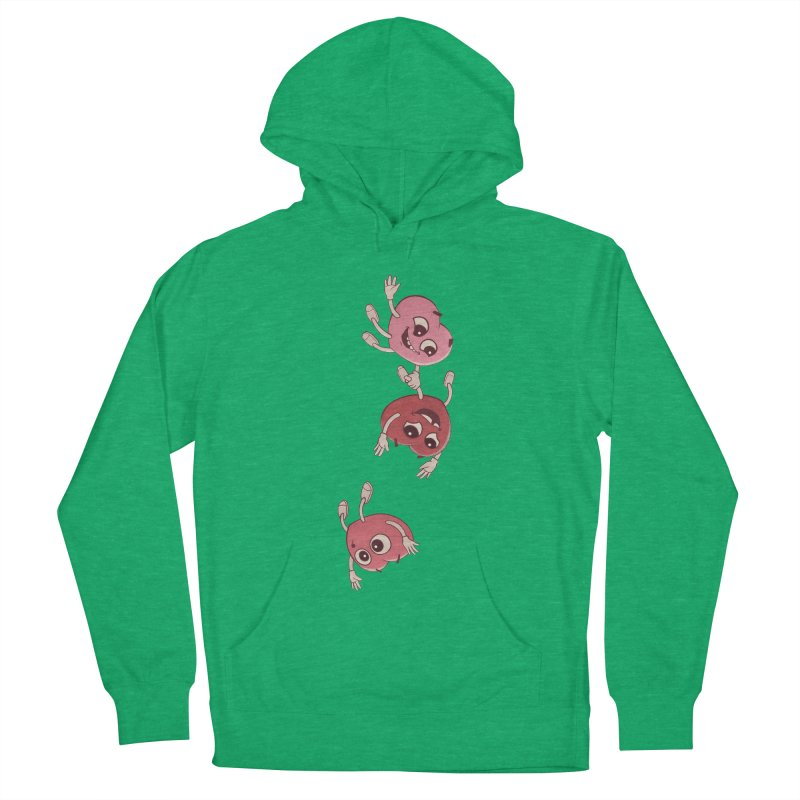 Falling in Love Women's French Terry Pullover Hoody by BRETT WISEMAN