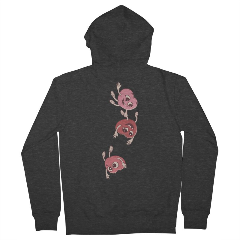 Falling in Love Women's French Terry Zip-Up Hoody by BRETT WISEMAN