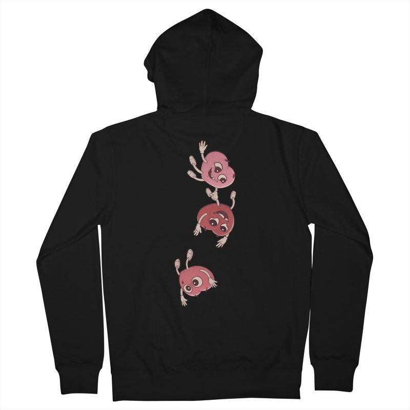 Falling in Love Men's French Terry Zip-Up Hoody by BRETT WISEMAN