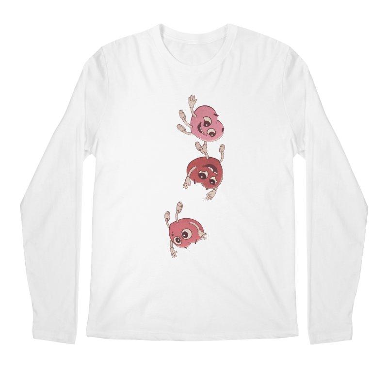 Falling in Love Men's Regular Longsleeve T-Shirt by BRETT WISEMAN