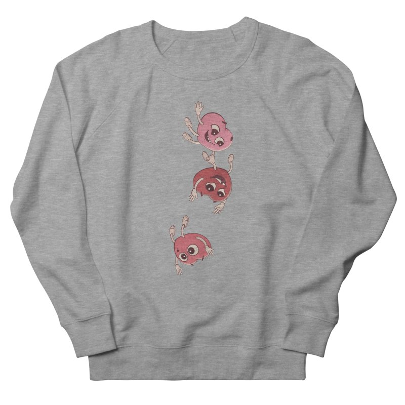 Falling in Love Women's French Terry Sweatshirt by BRETT WISEMAN