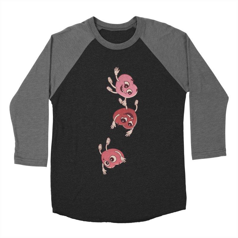 Falling in Love Men's Baseball Triblend T-Shirt by BRETT WISEMAN
