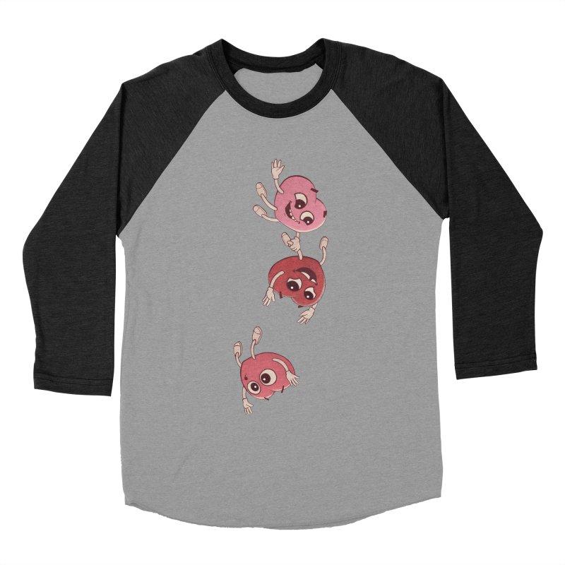 Falling in Love Men's Baseball Triblend Longsleeve T-Shirt by BRETT WISEMAN