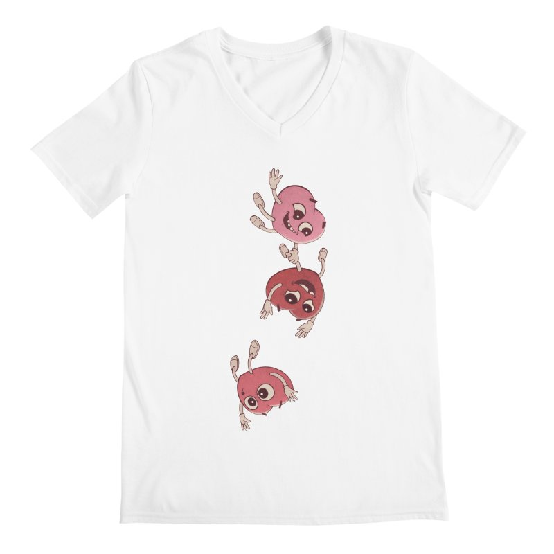 Falling in Love Men's V-Neck by BRETT WISEMAN