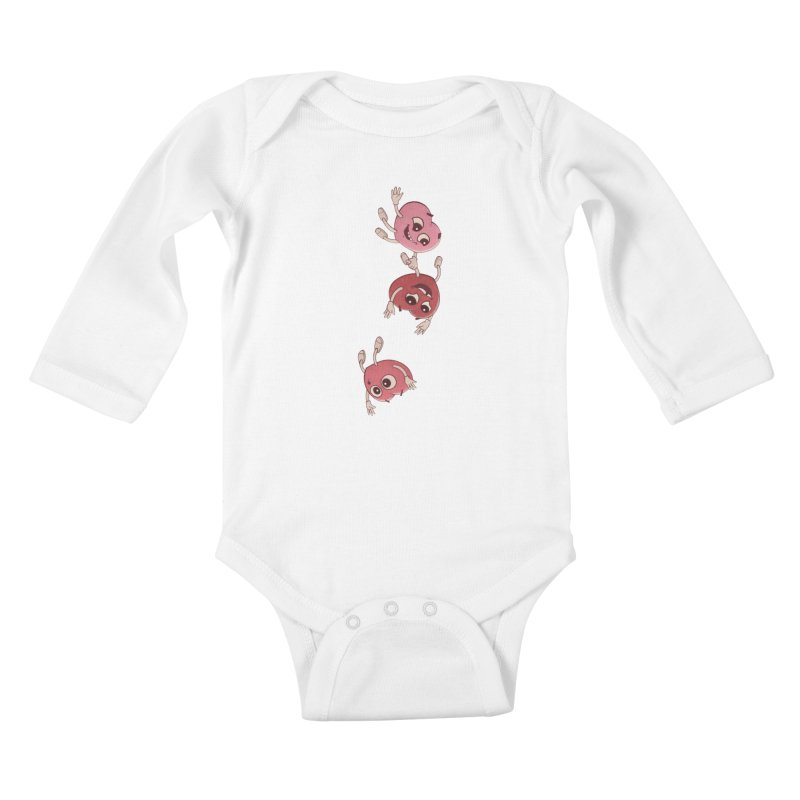 Falling in Love Kids Baby Longsleeve Bodysuit by BRETT WISEMAN
