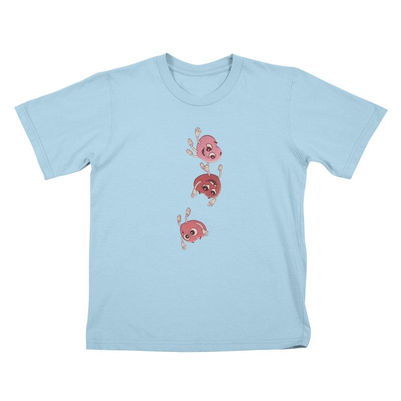 Falling in Love Kids T-Shirt by BRETT WISEMAN