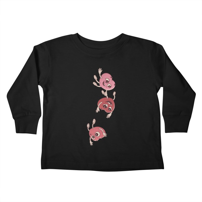 Falling in Love Kids Toddler Longsleeve T-Shirt by BRETT WISEMAN