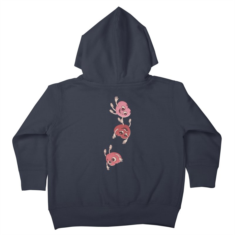 Falling in Love Kids Toddler Zip-Up Hoody by BRETT WISEMAN