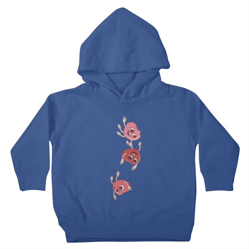 Falling in Love Kids Toddler Pullover Hoody by BRETT WISEMAN