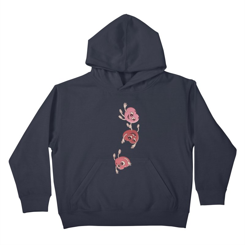 Falling in Love Kids Pullover Hoody by BRETT WISEMAN