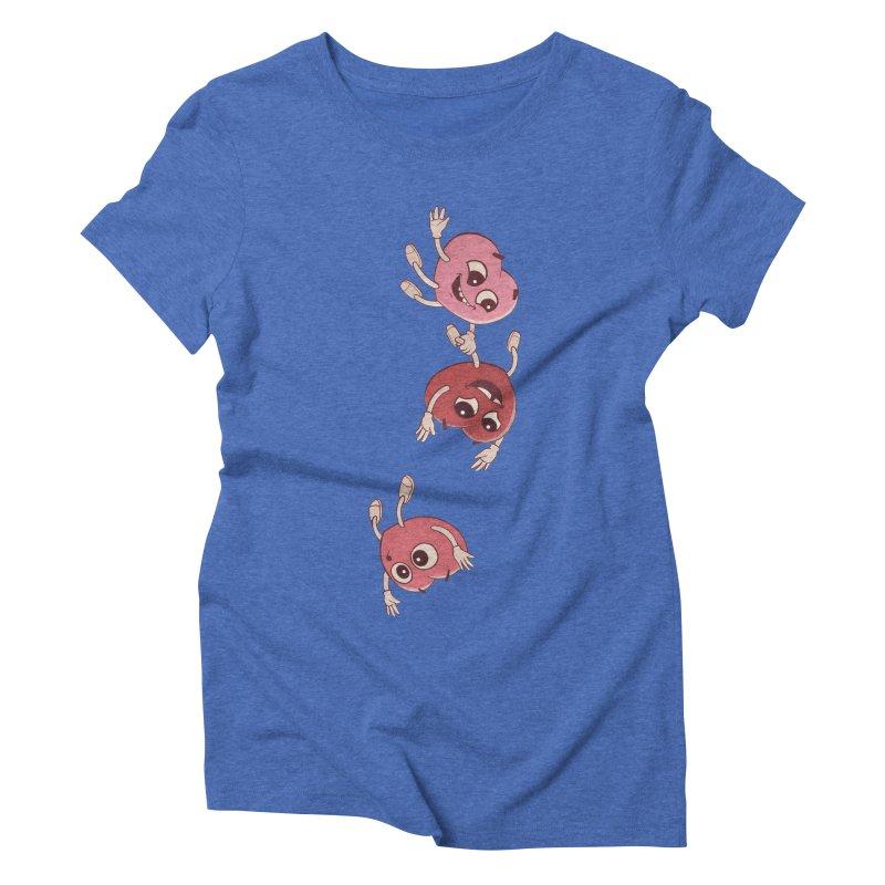 Falling in Love Women's Triblend T-Shirt by BRETT WISEMAN