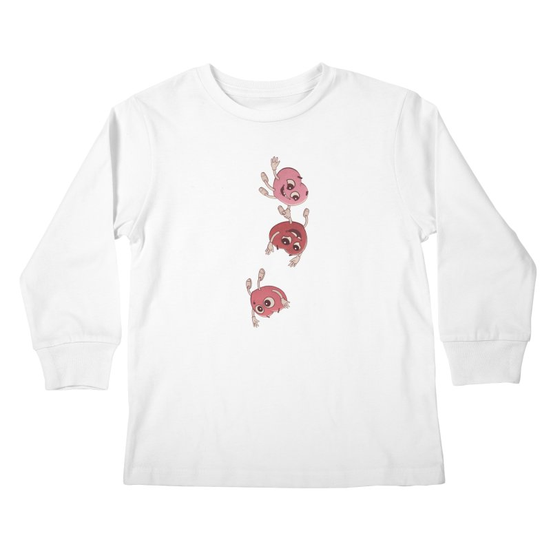 Falling in Love Kids Longsleeve T-Shirt by BRETT WISEMAN