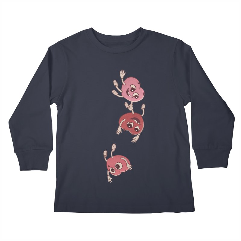 Falling in Love Kids Longsleeve T-Shirt by BRETT WISEMAN