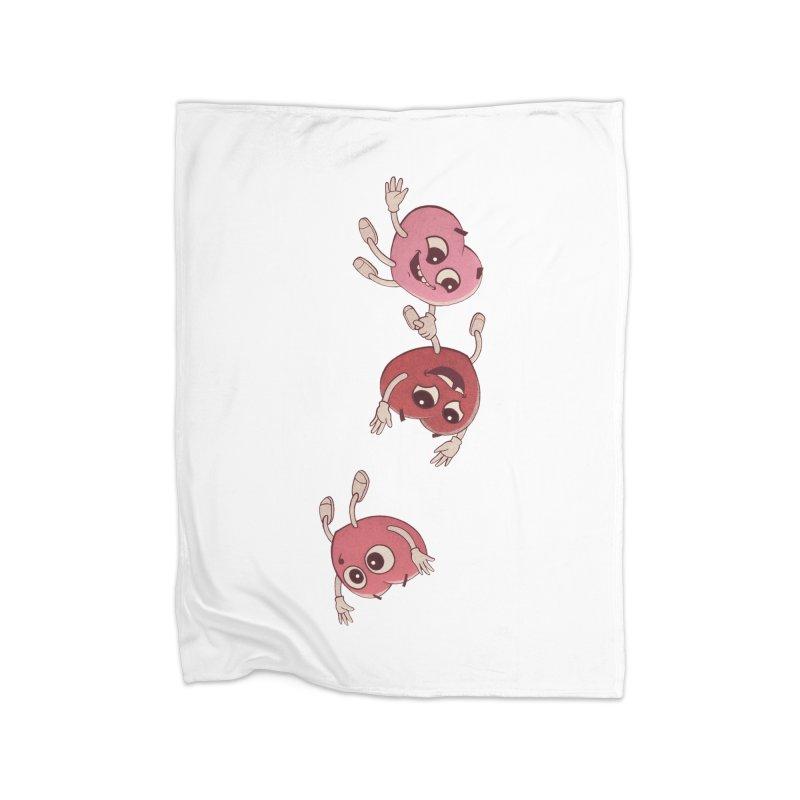 Falling in Love Home Blanket by BRETT WISEMAN