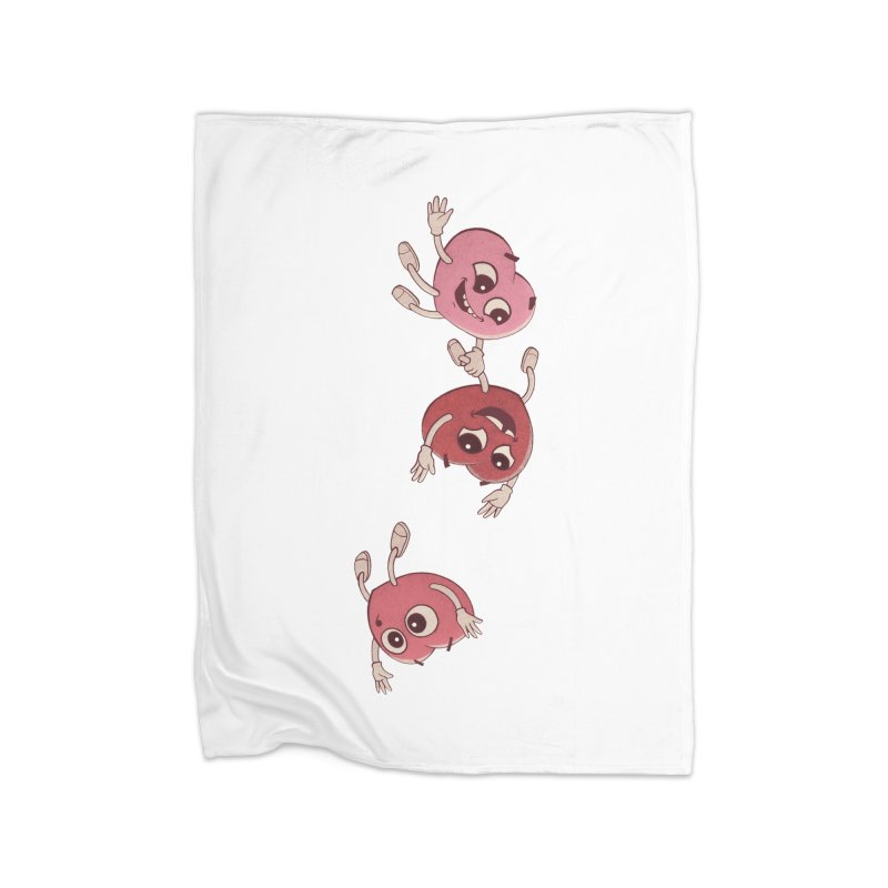 Falling in Love Home Fleece Blanket Blanket by BRETT WISEMAN